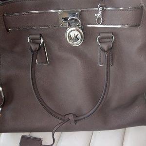 Beautiful Grey Michael Kor's purse